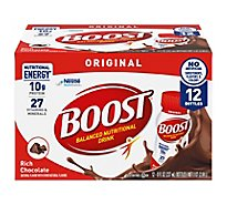 BOOST Nutritional Drink Original Rich Chocolate - 12-8 Fl. Oz.