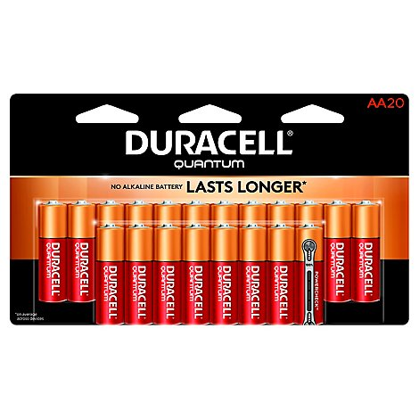 Duracell Quantum Battery Alkaline AA - 20 Count