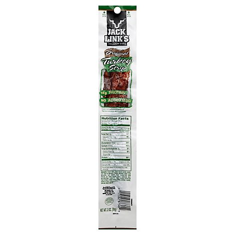 Jack Links Turkey Strip Original - 2 Oz