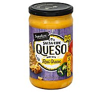 Signature SELECT Salsa Con Queso Medium Jar - 23 Oz
