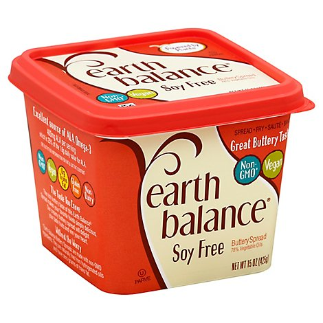 Earth Balance Soy Free Natural Buttery Spread - 15 Oz