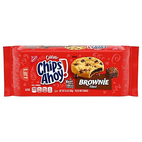 Chips Ahoy! Chewy Cookies Soft Brownie Filled - 9.5 Oz