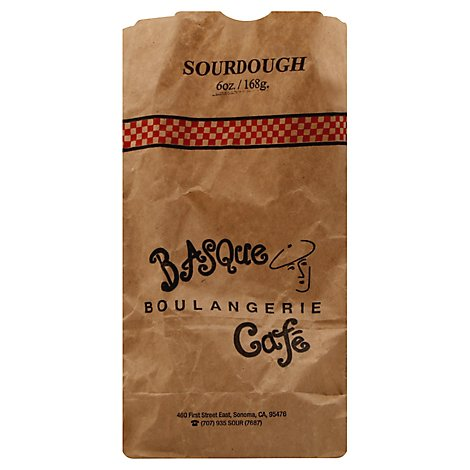 Basque Boulangerie Cafe Bread Baby Round Sourdough - 6 Oz