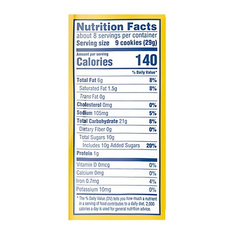 OREO Cookies Sandwich Golden Mini Snak Saks - 8 Oz