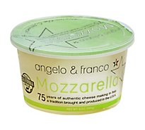 Angelo & Franco Cheese Mozzarella - 8 Oz