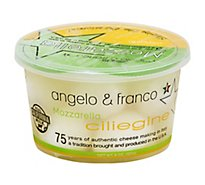 Angelo & Franco Cheese Mozzarella Ciliegine - 8 Oz