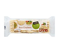 Signature SELECT Crackers Rice Wasabi  - 3.5 Oz