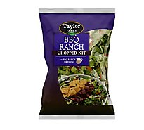Taylor Farms Chopped Salad Kit BBQ Ranch - Each
