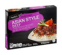 Signature SELECT World Cuisine Asian Style Beef - 9 Oz