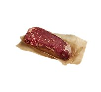 Meat Counter Beef USDA Prime Steak Top Loin New York Strip Boneless - 1.00 LB