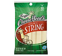 Frigo Cheese Heads Mozzarella String Cheese 12 Pack - 12 Oz