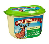 Challenge Butter Spreadable Lite Flavored with Olive Oil - 15 Oz