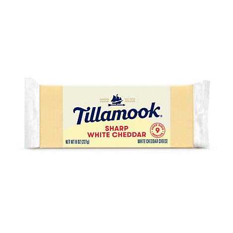 Tillamook Vintage Sharp White Chunk Cheese - 8 Oz