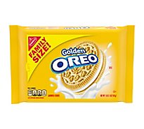 OREO Cookies Sandwich Golden Family Size - 19.1 Oz