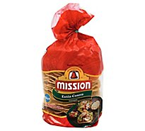 Mission Tostadas Estilo Casero Bag 22 Count - 12.8 Oz