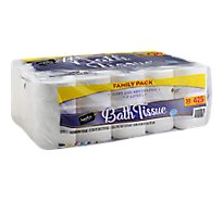 Signature Care Bathroom Tissue Soft & Absorbent 2 Ply Family Pack Bag - 30 Roll