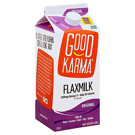 Good Karma Flaxmilk Original - Half Gallon
