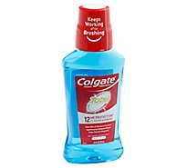 Colgate Total Mouthwash Pro-Shield Antigingivitis Antiplaque Peppermint Blast - 8.4 Fl. Oz.