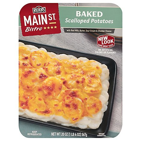 Resers Main St. Bistro Side Baked Scalloped Potatoes - 20 Oz