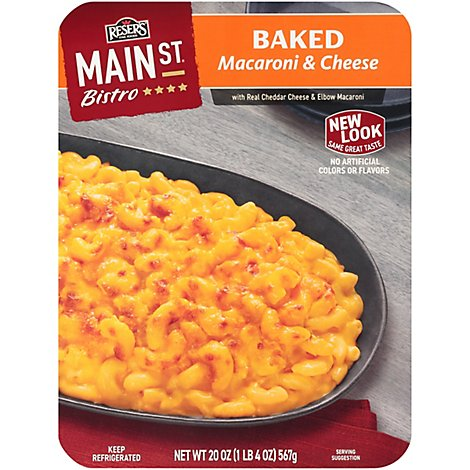 Resers Main Street Bistro Side Baked Mac & Cheese - 20 Oz