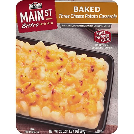 Resers Main Street Bistro Side Baked Hash Brown Casserole Baked - 20 Oz