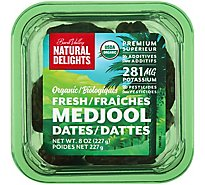Bard Valley Natural Delights Dates Medjool Organic - 8 Oz