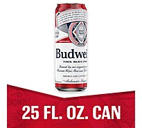 Budweiser Beer Can - 25 Fl. Oz.