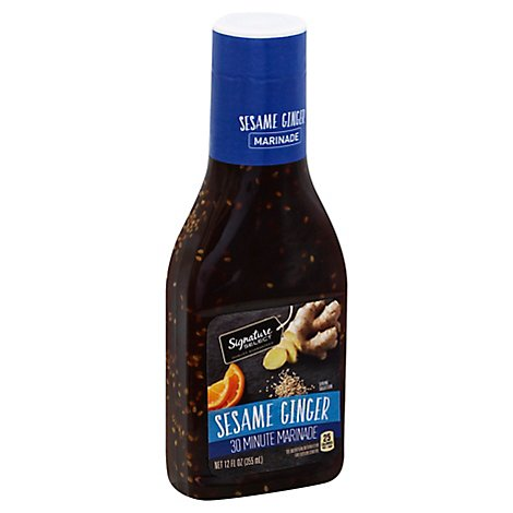 Signature SELECT Marinade Sesame Ginger - 12 Fl. Oz.