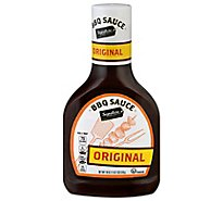Signature SELECT Sauce Barbecue Original Bottle - 18 Oz