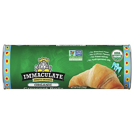 Immaculate Baking Crescent Rolls All Natural Rolls - 8 Oz