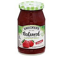 Smuckers Natural Fruit Spread Strawberry - 17.25 Oz