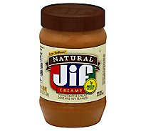 Jif Natural Peanut Butter Creamy - 40 Oz