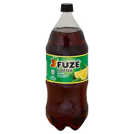 Fuze Iced Tea Lemon - 2 Liter - Online