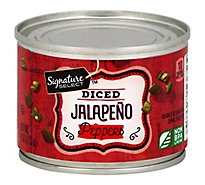 Signature SELECT Peppers Jalapeno Diced Can - 4 Oz