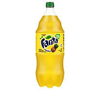 Fanta Soda Pop Pineapple Flavored - 2 Liter