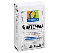 O Organics Coffee Ground Medium Roast Guatemalan - 10 Oz