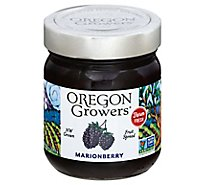 Oregon Growers Fruit Spread Marionberry - 12 Oz