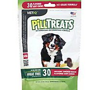 VetIQ Dog Treats Pill Treats Advanced Formula Soft Chews Chicken Flavored Pouch - 30 Count