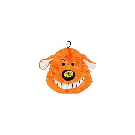 Multipet Dog Toy Crinkle The Original Loofa Head Card - Each