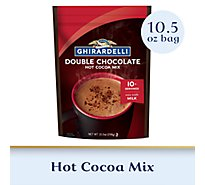 Ghirardelli Hot Cocoa Mix Premium Double Chocolate - 10.5 Oz