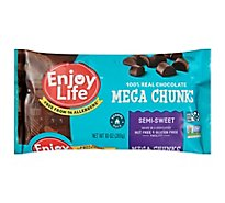 enjoy life Chocolate Semi-Sweet Mega Chunks - 10 Oz