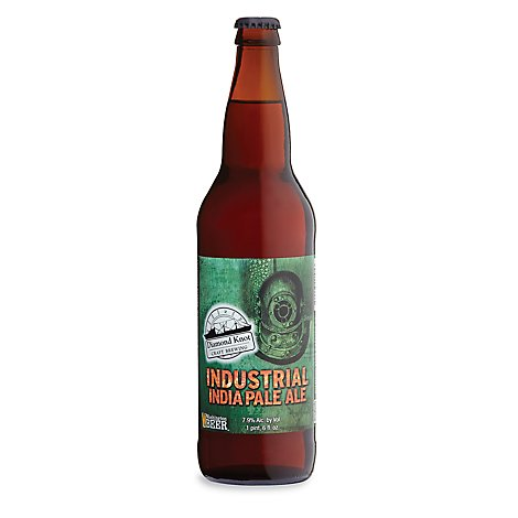 Diamond Knotdustrial IPA Bottle - 22 Fl. Oz.