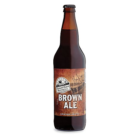Diamond Knot Brown Ale Bottle - 22 Fl. Oz.