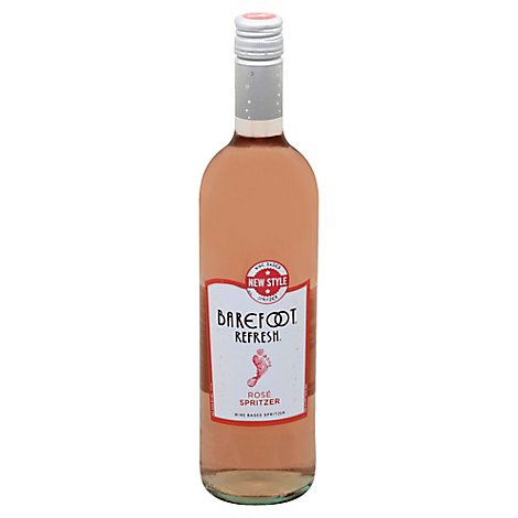 Barefoot Spritzer Rose Wine - 750 Ml