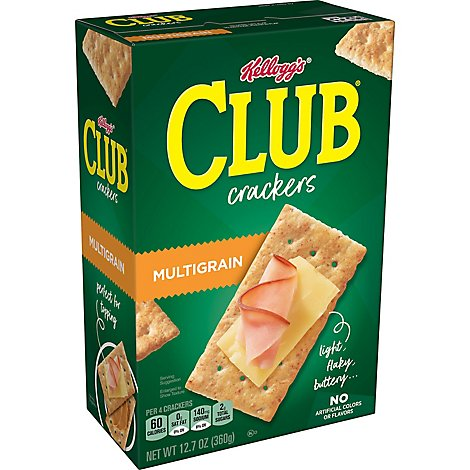 Keebler Club Crackers Multi-Grain Cheddar Cheese & Apple Slices - 12.7 Oz