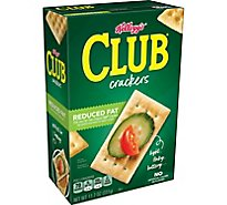 Keebler Club Crackers Reduced Fat - 11.7 Oz