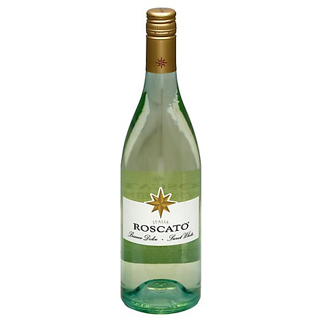 Roscato Wine White Sweet Italia - 750 Ml