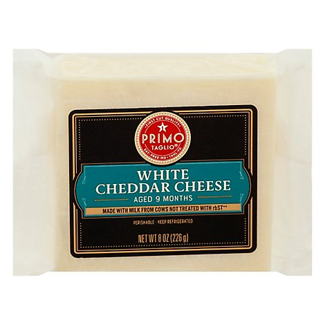 Open Nature Cheese White Cheddar Aged 9 Months - 8 Oz