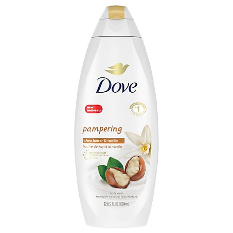 Dove Purely Pampering Body Wash Nourishing Shea Butter with Warm Vanilla - 22 Fl. Oz.