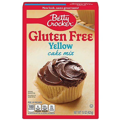 Betty Crocker Cake Mix Gluten Free Yellow - 15 Oz